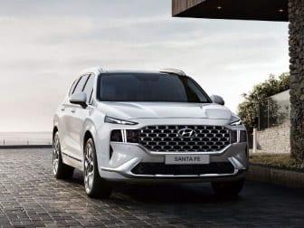 Novo Hyundai SANTA FE: O SUV topo de gama. Agora eletrificado.